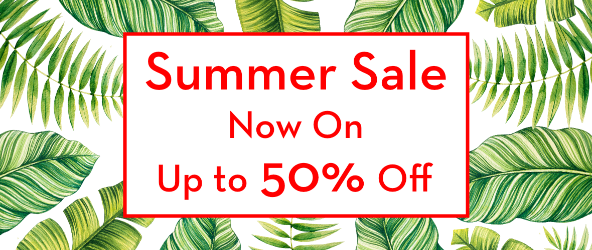 Sale Now On Up to 50% Off