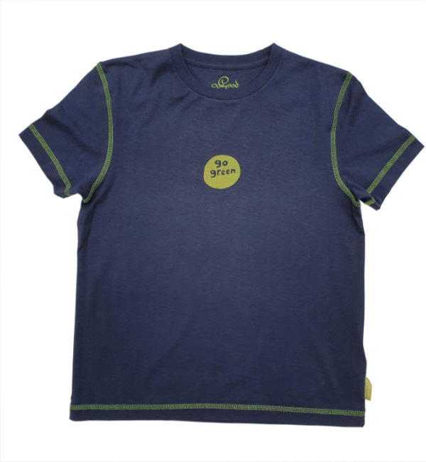 12054 Life is Good Womens Organic T Go Green