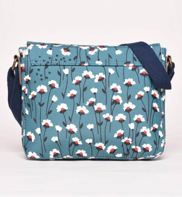 Brakeburn Emily Saddle Bag - Teal Back