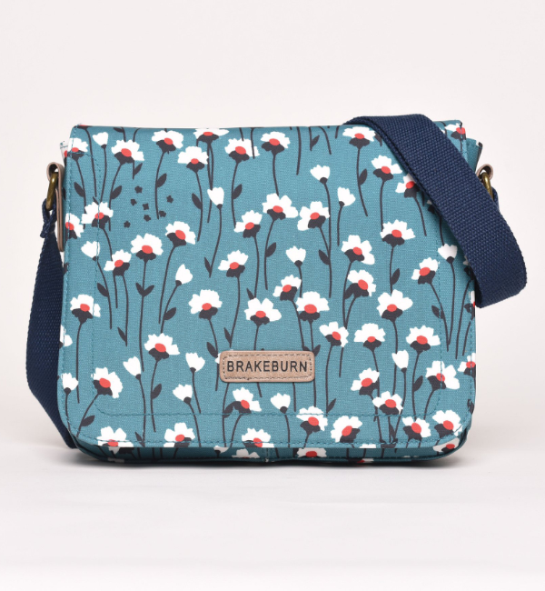 Brakeburn Emily Saddle Bag - Teal Front
