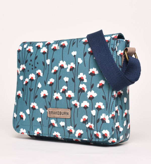 Brakeburn Emily Saddle Bag - Teal Side