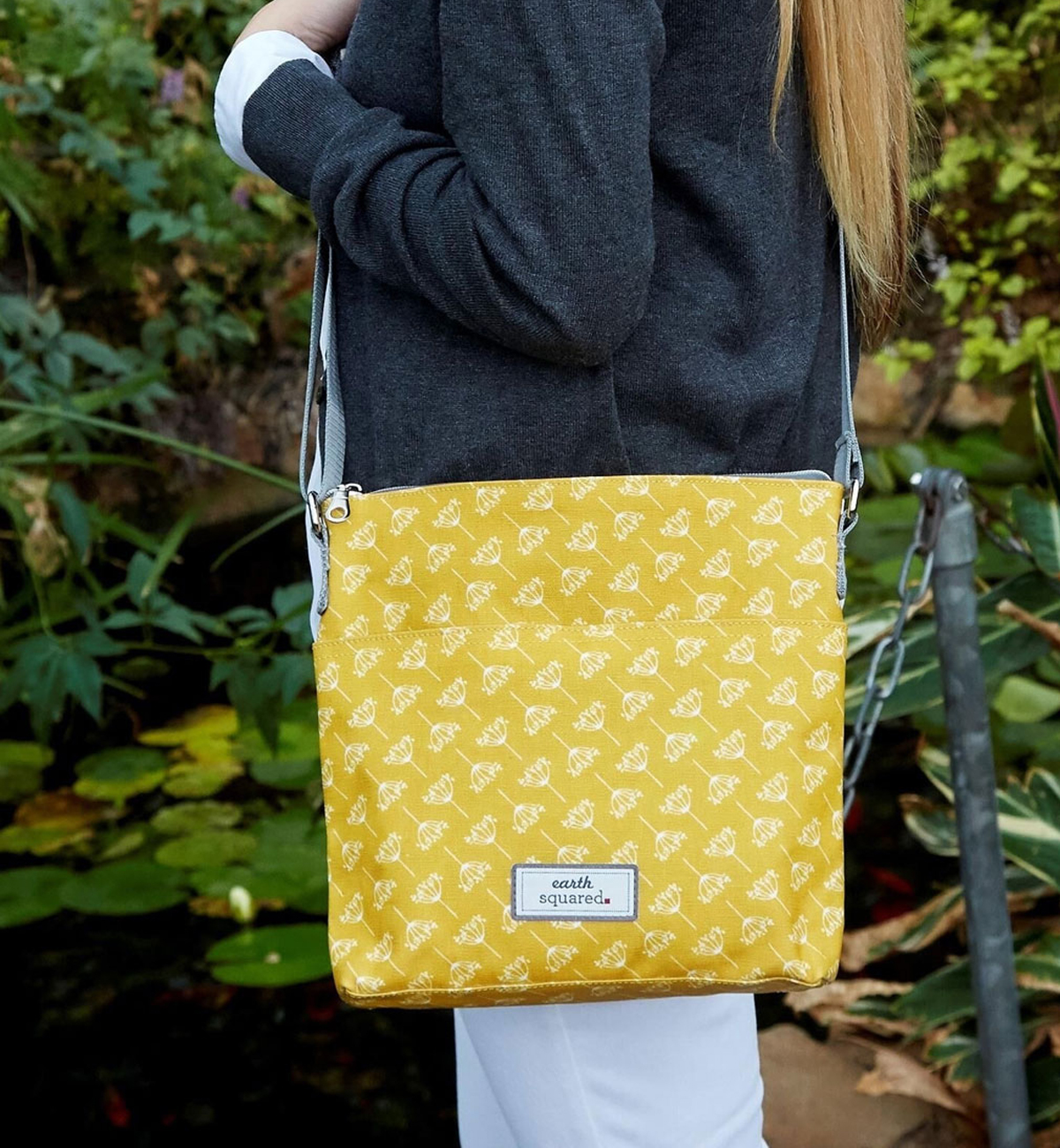 Earth-Squared-Dandelion-Oil-Cloth-Messenger-Bag---Mustard