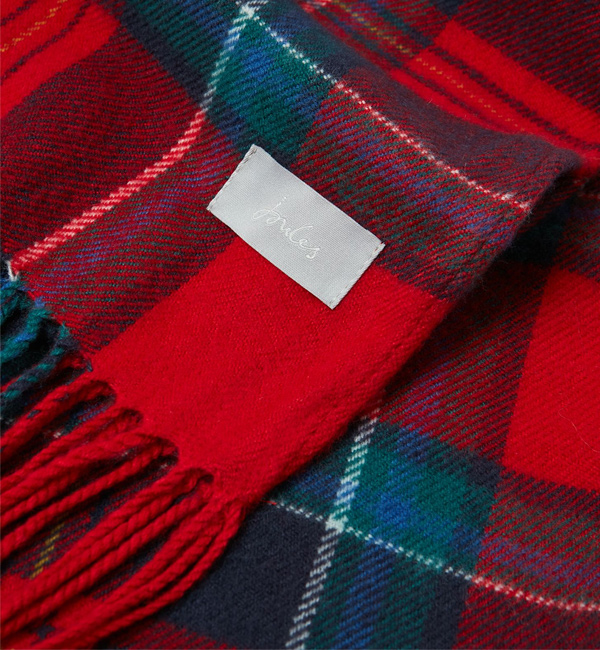 Joules-Bracken-Soft-Handle-Scarf-Red-Navy-Check-flat-detail.jpg