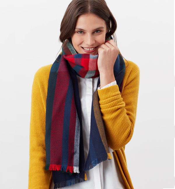 Joules-Bridey-Checked-Scarf-Cream-Multi-Check-model-front.jpg