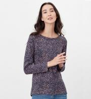 Joules-Harbour-Print-Jersey-Top-Navy-Speckle-model-front.jpg