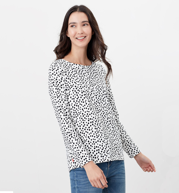 Joules-Harbour-Print-Jersey-Top-Spot-Print-model-front.jpg