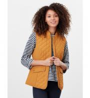 Joules-Minx-Quilted-Gilet-model-front