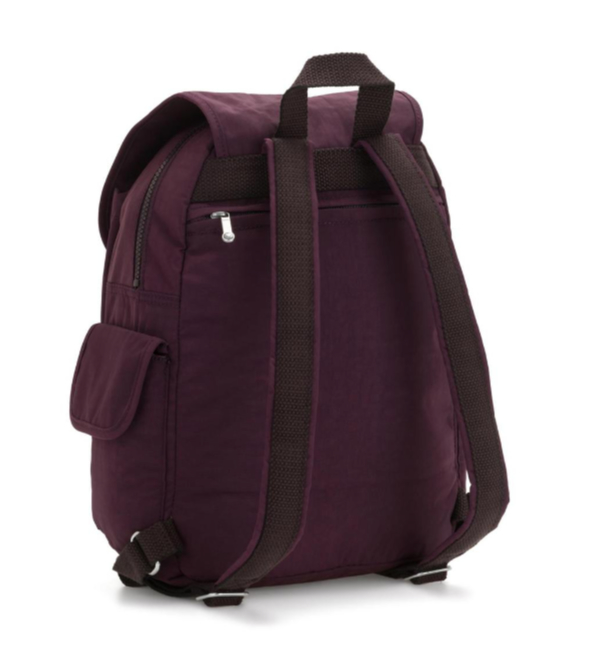 Kipling City Pack Mini Backpack - Dark Plum Back K1267051E