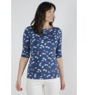 Lily & Me Monica Top Daisy - Navy LM7101