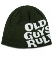 Old Guys Rule Beanie Stacked Logo Rifle Green