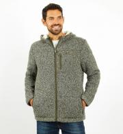 Weird-Fish-Mens-Leckie-Full-Zip-Bonded-Fleece-Dark-Olive-model-front.jpg