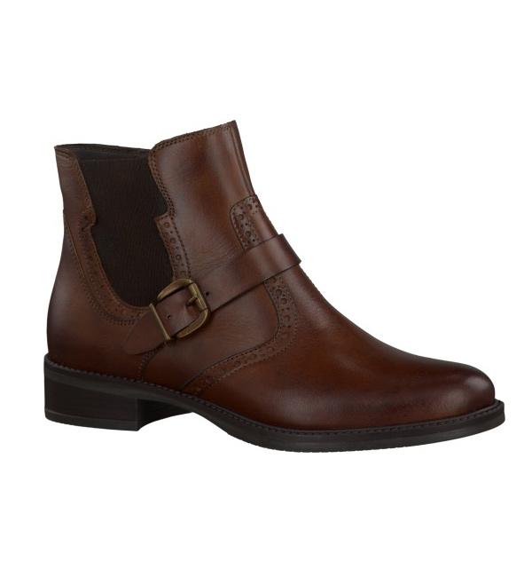 tamaris womens leather chelsea boot muscat. Black Bedroom Furniture Sets. Home Design Ideas