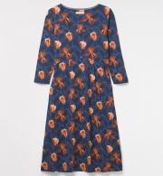 cb70439eb94 White Stuff Womens Jana Dress - Violet Blue Print