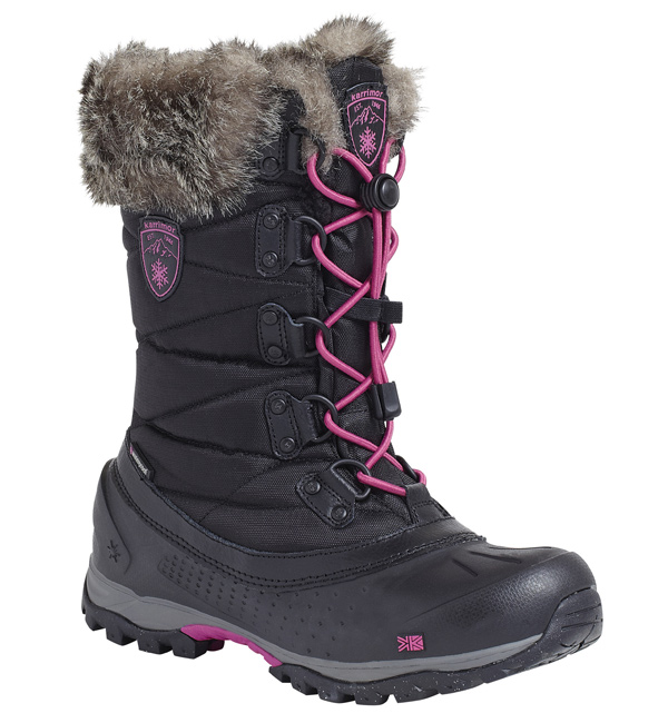 Karrimor womens alaska snow boots black