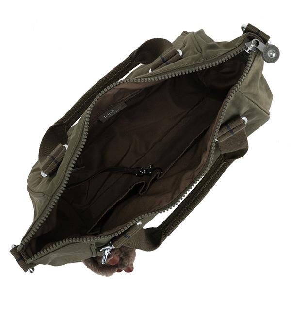 dc28160bd9 Kipling 1 Amiel Medium Handbag - Jaded Green