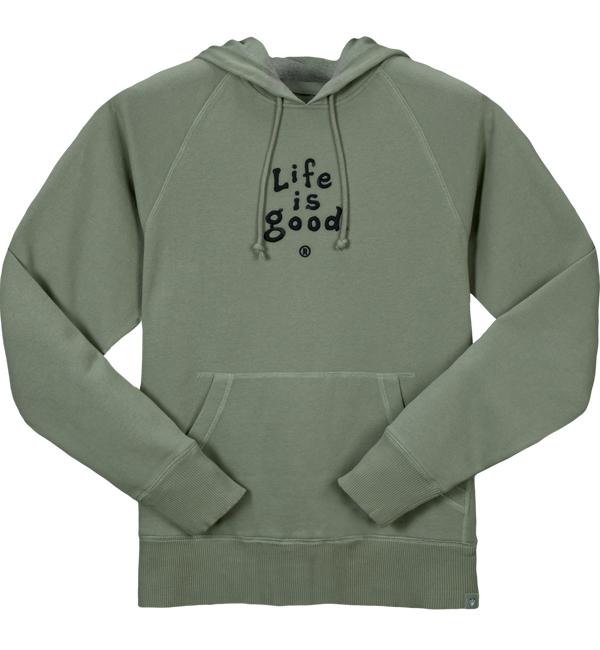 07641ed4e62 Life is Good Mens Softwash Hoodie - Dublin Green